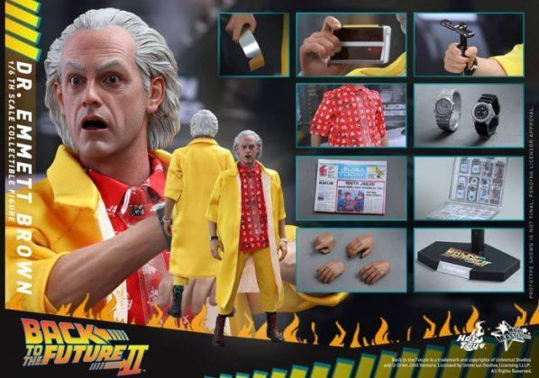 Hot Toys Regreso al futuro 3
