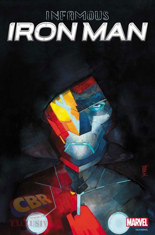 Infamous Iron Man - portada