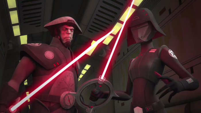 Inquisidores Star Wars Rebels