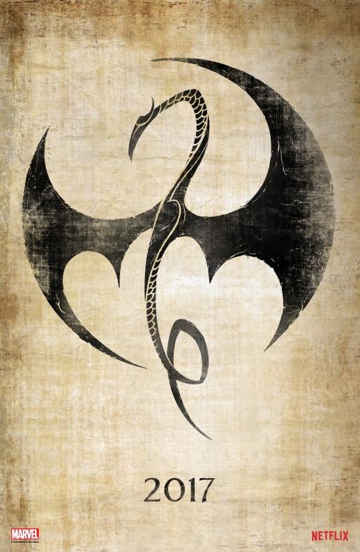 Iron Fist teaser póster