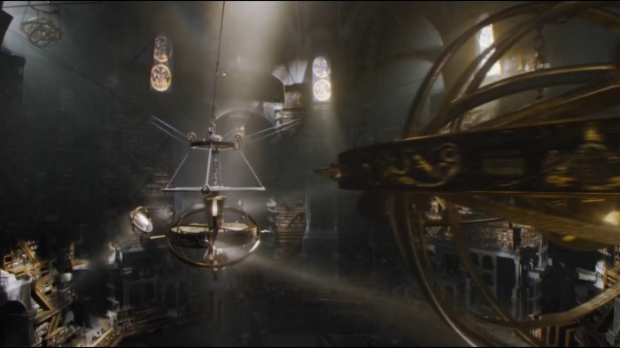 Juego de Tronos - Astrolabio en la biblioteca de la Ciudadela