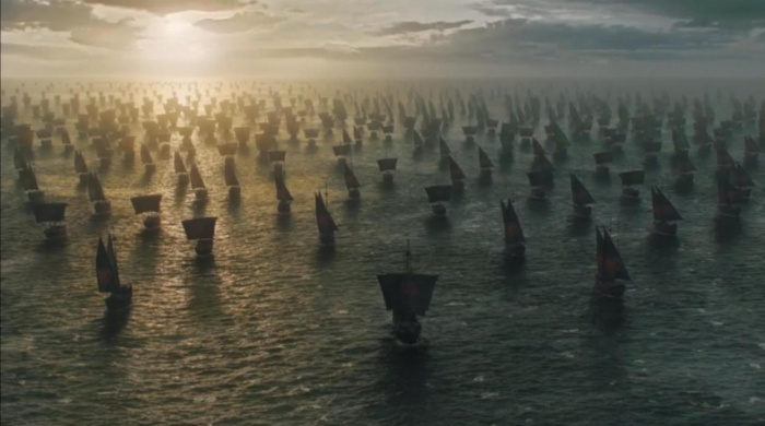 Juego de Tronos - Flota de Daenerys