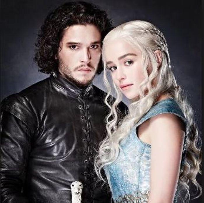 Juego de Tronos - Jon y Daenerys