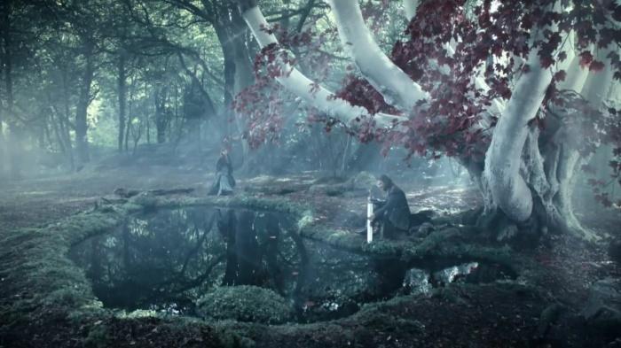 Juego de Tronos - Ned y Catelyn árbol
