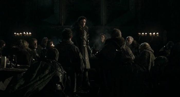 Juego de Tronos - Robb Rey en el Norte