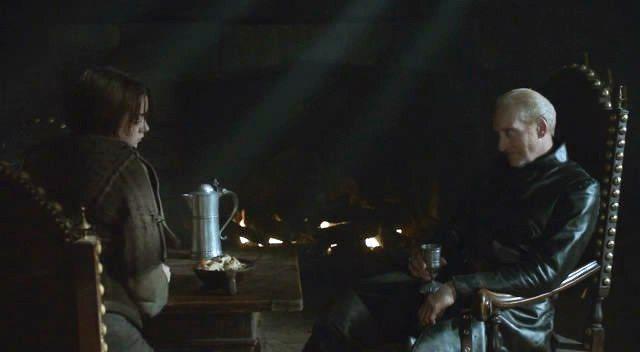 Juego de Tronos - Tywin y Arya