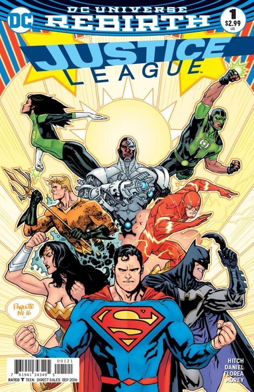Justice League 1 portada alternativa