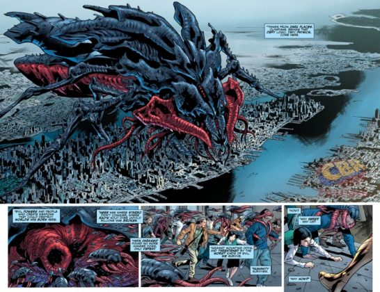 Justice League Rebirth Página interior (2)