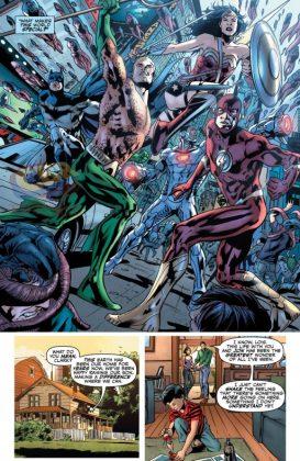 Justice League Rebirth Página interior (3)