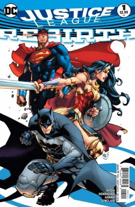 Justice League Rebirth Portada alternativa de Joe Madureira