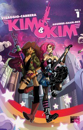 Kim & Kim Portada alternativa de Eva Cabrera