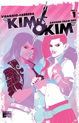 Kim & Kim Portada principal de Tess Fowler