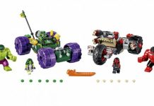 LEGO Hulk contra Hulk Rojo