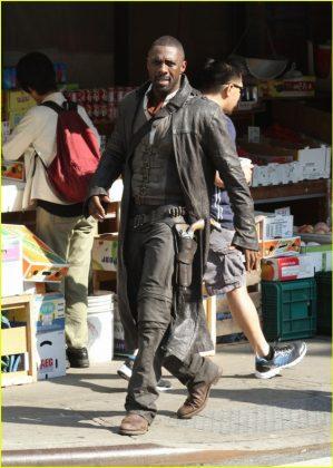 La Torre Oscura Idris Elba Set de rodaje (12)