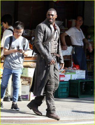 La Torre Oscura Idris Elba Set de rodaje (13)