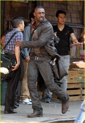 La Torre Oscura Idris Elba Set de rodaje (14)