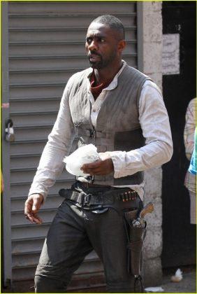 La Torre Oscura Idris Elba Set de rodaje (15)