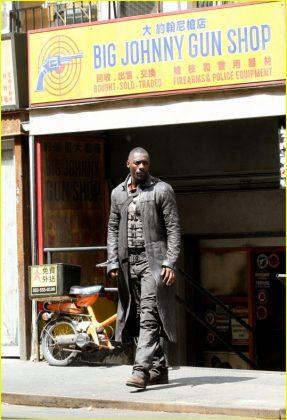 La Torre Oscura Idris Elba Set de rodaje (22)