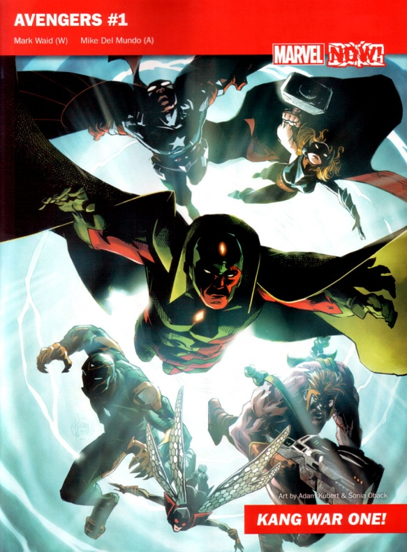 Marvel Now 01 Avengers