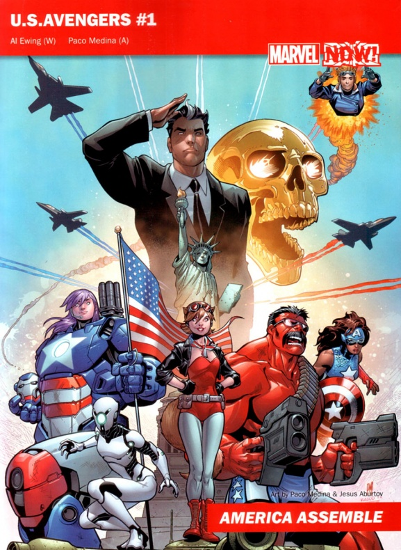 Marvel Now 03 USAvengers