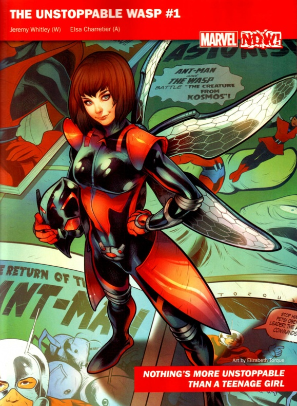 Marvel Now 06 Unstopable Wasp