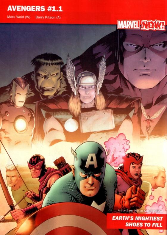 Marvel Now 09 Avengers 1.1