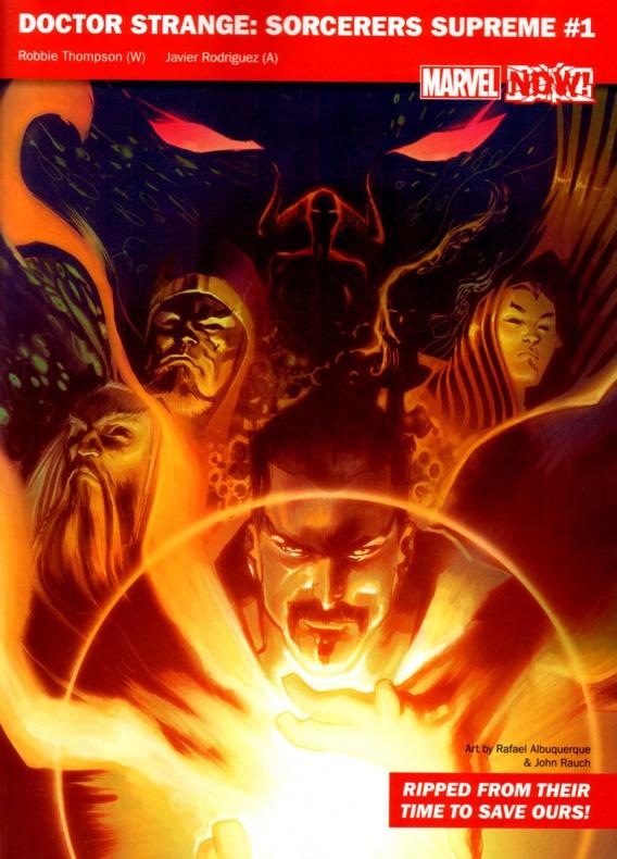 Marvel Now 10 Doctor Strange Supreme Sorcer