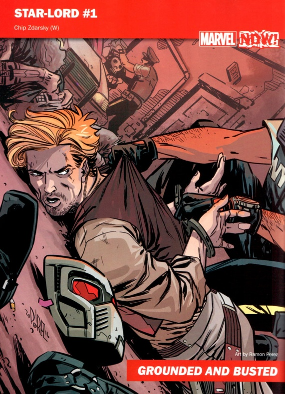 Marvel Now 11 Star Lord