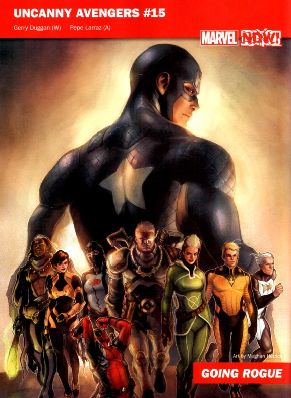 Marvel Now 17 Uncanny Avengers