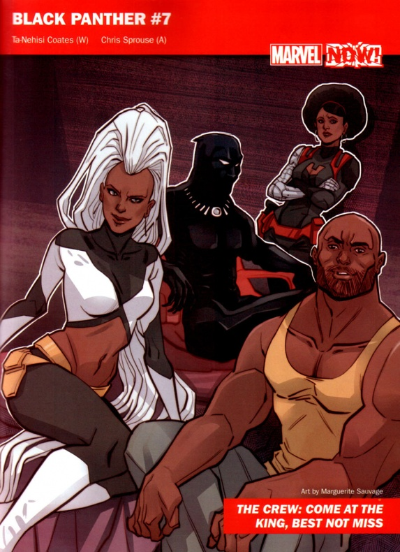 Marvel Now 18 Black Panther