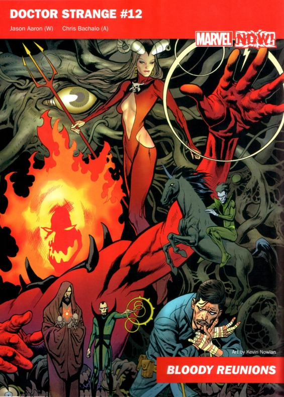 Marvel Now 20 Dr Extraño