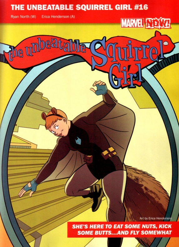 Marvel Now 21 Squirrel Girl