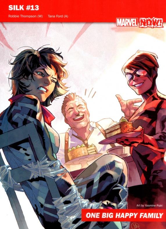 Marvel Now 24 Silk
