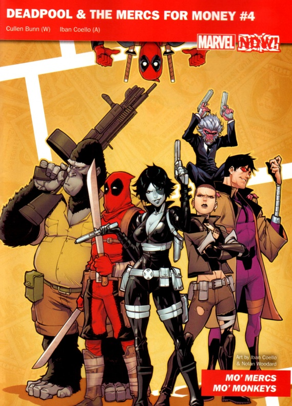 Marvel Now 25 Deadpool for money
