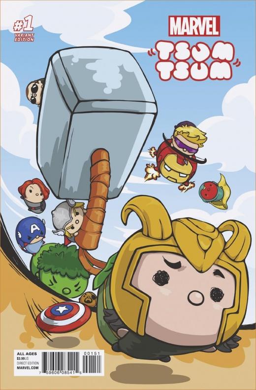 Marvel Tsum Tsum 1 Japanese Game Variant 741f8