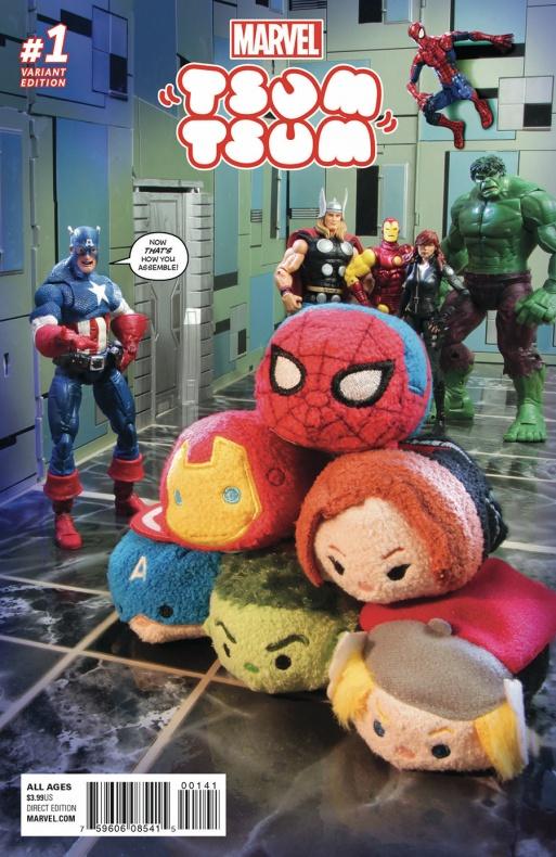 Marvel Tsum Tsum 1 Photo Variant b349b