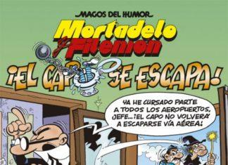 'Mortadelo y Filemón el capo se escapa'