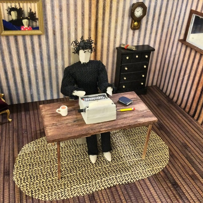Neil Gaiman Dream Dangerously stopmotion