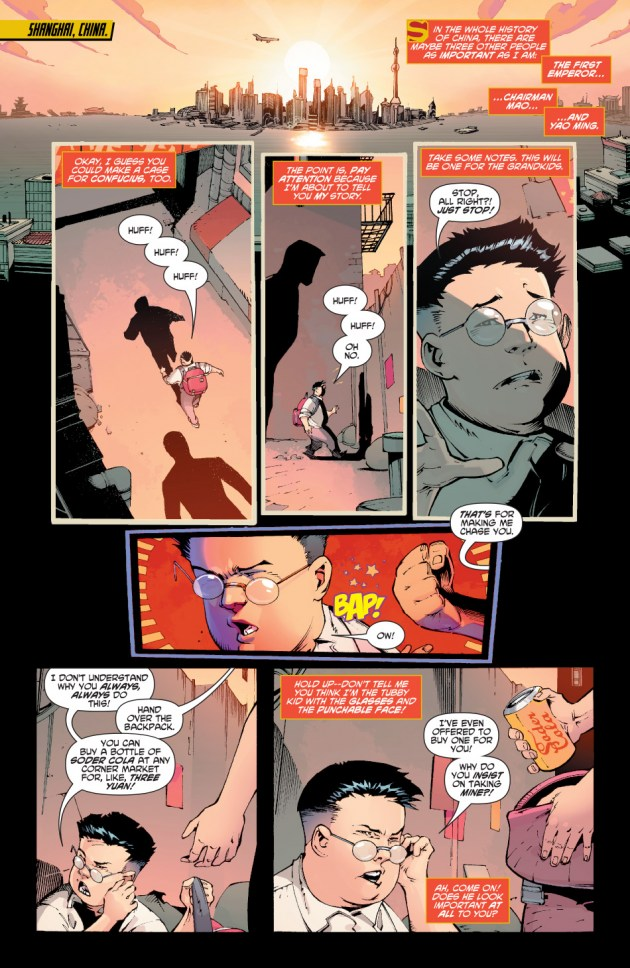 New Super-Man Kenan Kong Superman chino portada alternativa