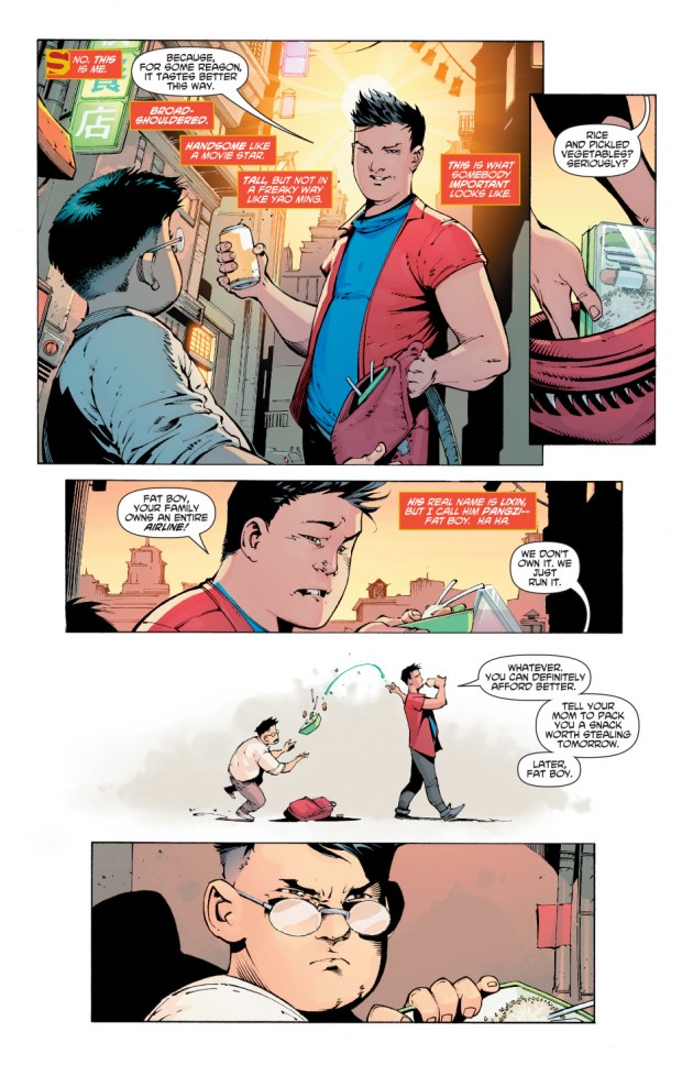 New Super-Man Kenan Kong Superman chino 3
