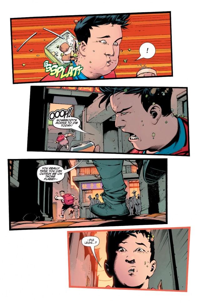 New Super-Man Kenan Kong Superman chino 4