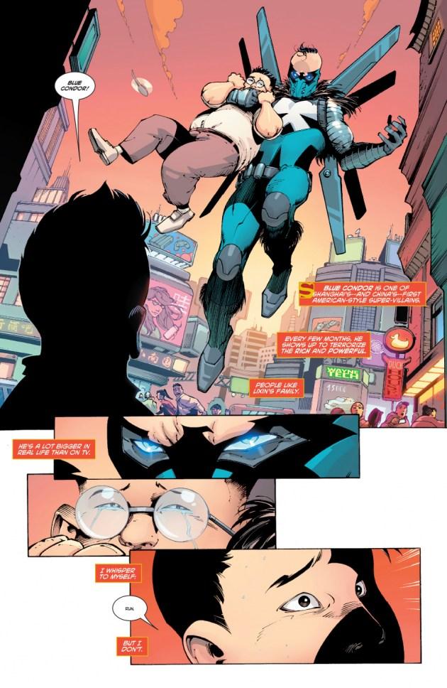 New Super-Man Kenan Kong Superman chino 5