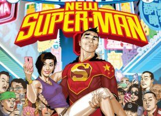New Super-Man Kenan Kong Superman chino destacada