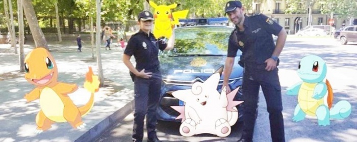Pokemon GO Policia Nacional