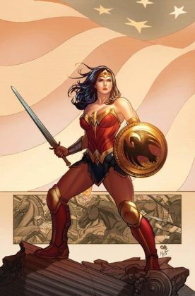 Wonder Woman Frank Cho Portada alternativa 1