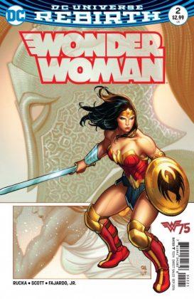 Wonder Woman Frank Cho Portada alternativa 2
