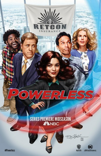 Powerless poster Neal Adams