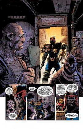 Predator vs. Judge Dredd vs. Aliens Página interior (2)