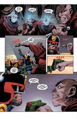 Predator vs. Judge Dredd vs. Aliens Página interior (4)