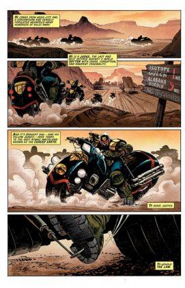 Predator vs. Judge Dredd vs. Aliens Página interior (5)